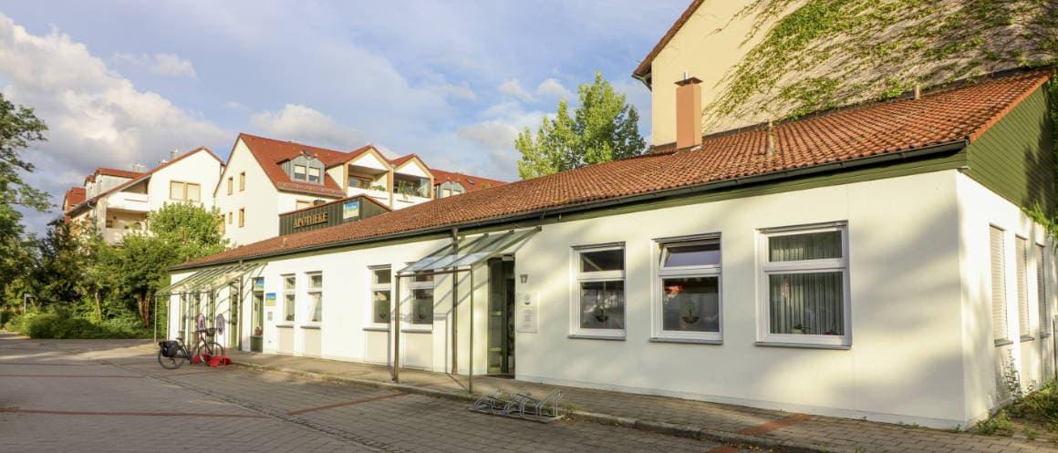 Hausarztpraxis Büchenbach Eingang